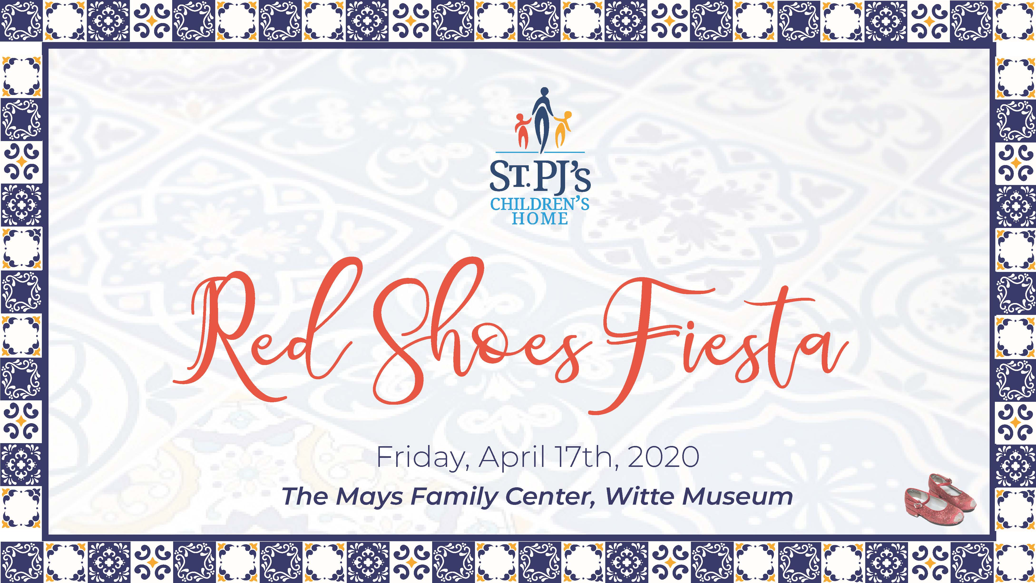 Red Shoes Fiesta Banner Graphic