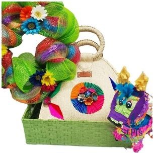 pinata and basket